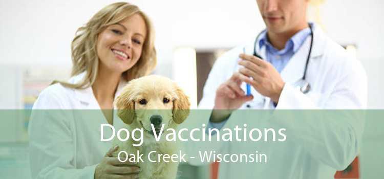Dog Vaccinations Oak Creek - Wisconsin