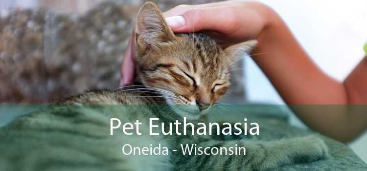 Pet Euthanasia Oneida - Wisconsin