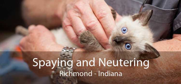 Spaying and Neutering Richmond - Indiana